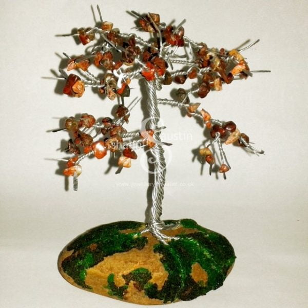 Wire Sculpture Tree: Jasper