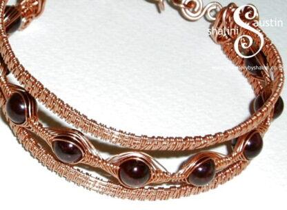 """Wire Weave Bracelet """"Suzanne"""""""
