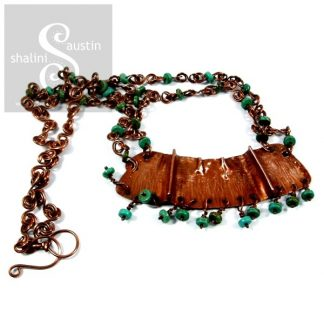 Turquoise & Copper Necklace LADAKH