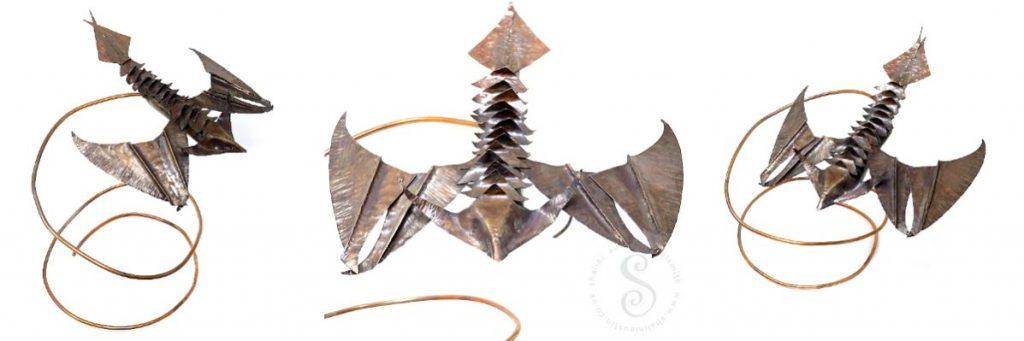 Agnimay copper dragon