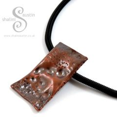 Salvaged Copper Pipe Pendant