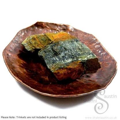 Copper Trinket Tray: Round Dish (9 cm)