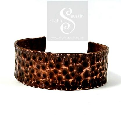 Sold: Upcycled Unisex Copper Pipe Cuff 06