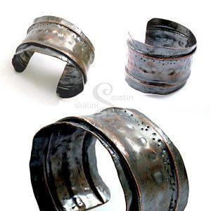Fold Formed Copper Cuff 11