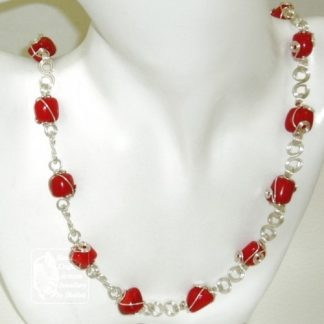 Handmade to Order – Limited Edition Red Coral Necklace