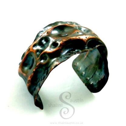 One-Off Unisex Copper Cuff Bracelet