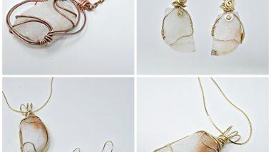 Bespoke Wire Wrapped Rock Jewellery