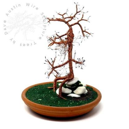 Copper Wire Sculpture by Dave Austin TREEBEARD