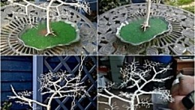 Wire Sculpture Bonsai style Tree