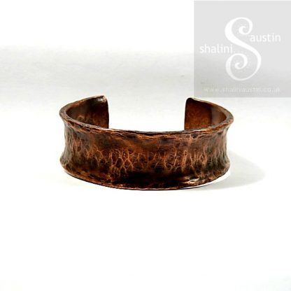 Upcycled Copper Pipe Cuff 01