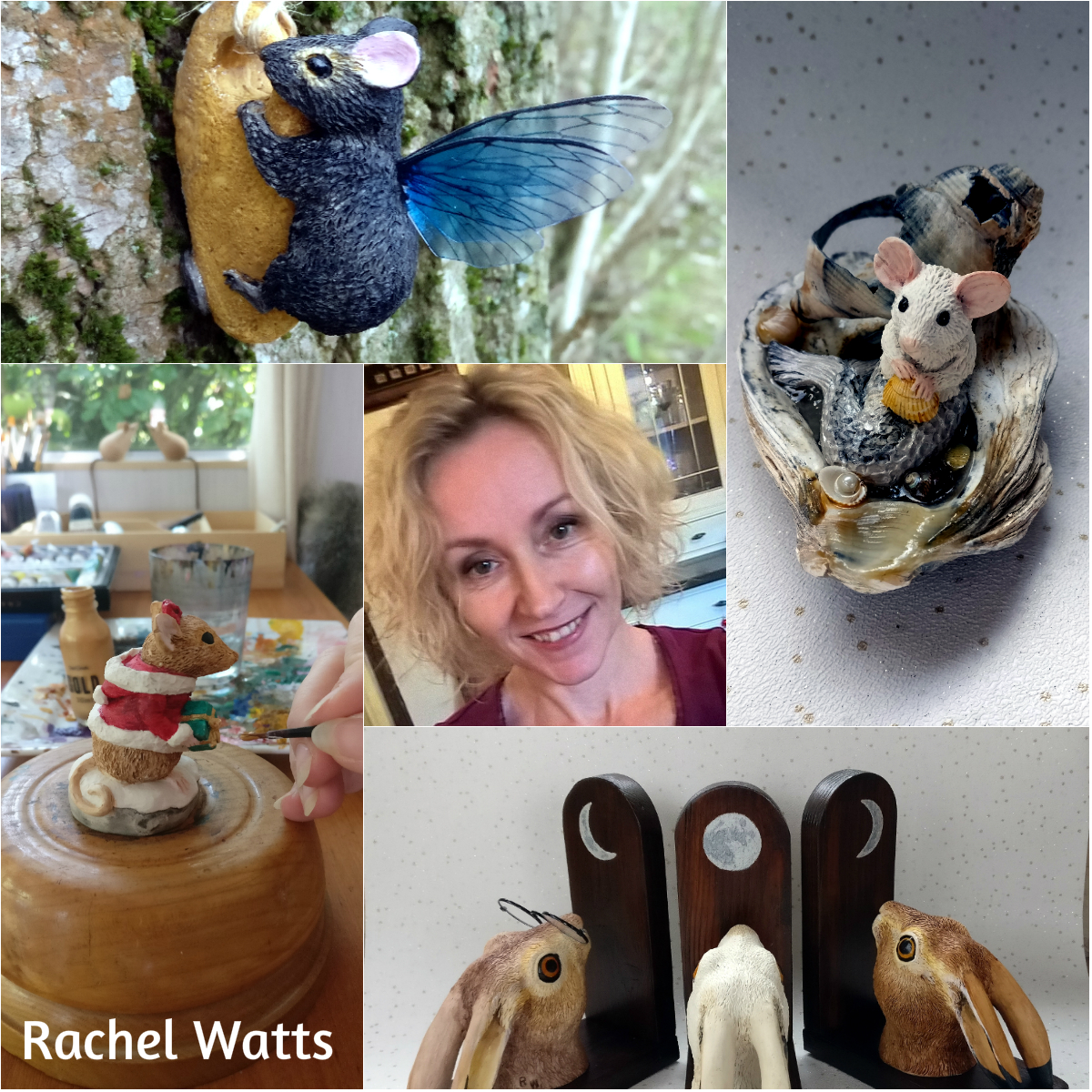 Rachel Watts - Artist Market at Stamford Arts Centre