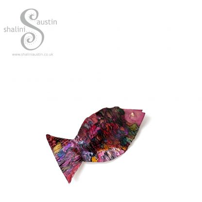 Colourful Little Fish Hanging Decoration