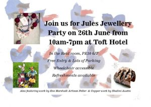 Jewellery Party in Toft @ Toft Country House Hotel & Golf Club