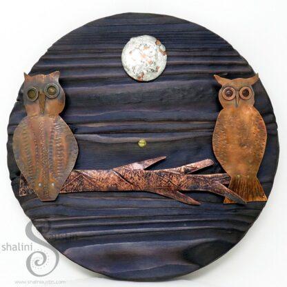 Copper Owls Wall Art | FIRST DATE