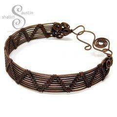 Wire Weave Bracelet SHELLY