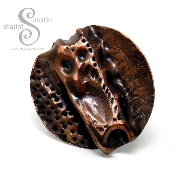 Air-Chased Copper Ring 05