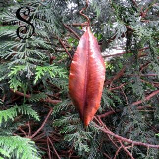 Decorative Copper Leaf Sculpture 01