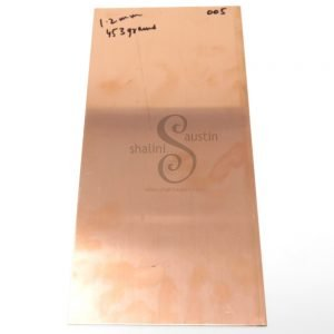Copper Sheet Offcut 1.2mm (005) | 18 gauge SWG | 300 x 145 mm