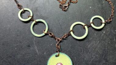 Bespoke Enamelled Necklace