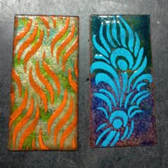 Did a bit more enamelling
