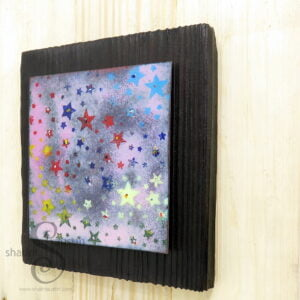 HAPPY HOLI 04 | Festival of Colours Copper Wall Art