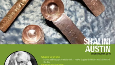 My profile is part of SK Profiles Art Windows on Ironmonger's Street in Stamford.