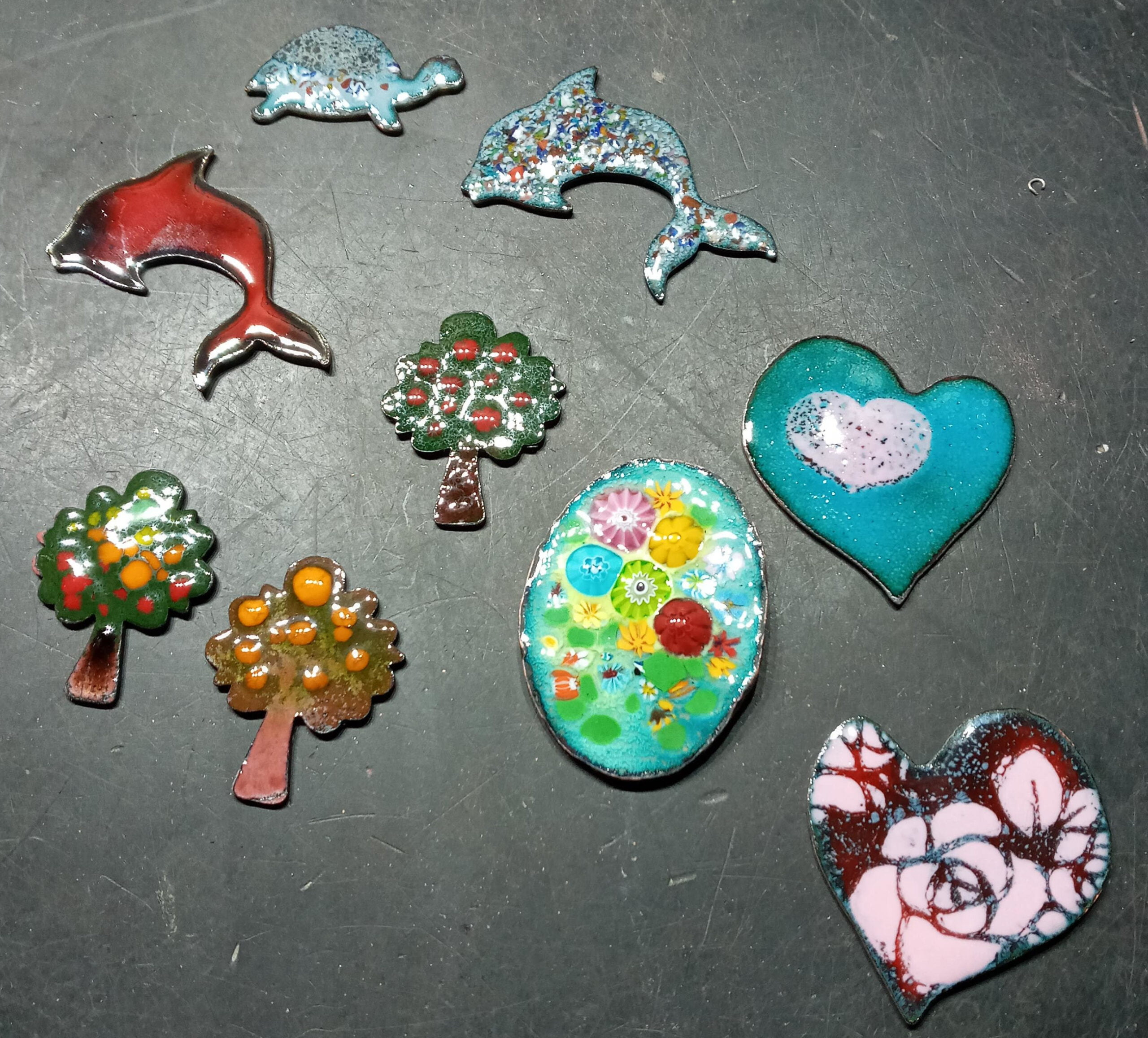 Making Brooches