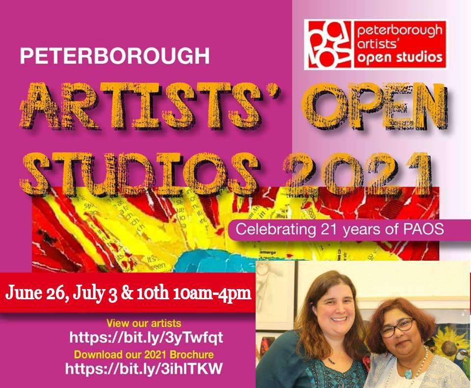 Peterborough Artists Open Studios 2021