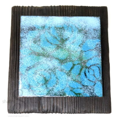 BRAIN FOG   One-Off Enamelled Copper Wall Art